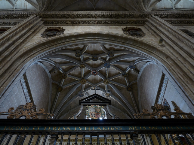 Catedral de Salamanca - Bóveda de la Capilla de Santa Teresa y Santiago